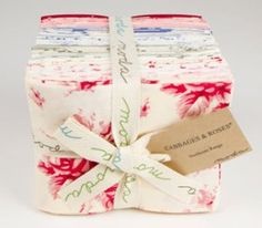 'fat quarter bundles' pre cut and  wrapped bundles of quilting fabric
