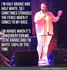 Racially confused