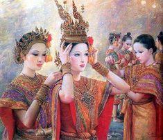 Chakrabhand Posayakrit's painting