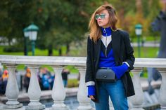 The Best Street Style From Russia Fashion Week: Spring 2017 - Vogue