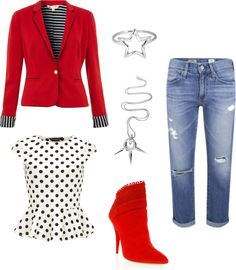 Senior Style - red -