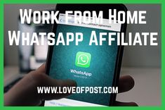 In Today's post you will learn how to make money from home with WhatsApp affiliate marketing. Easy to do and very possible to earn extra cash! Make Money From Home, How To Make Money, Earn Extra Cash, Financial Information, All News, You Are Awesome, Affiliate Marketing, Blogging, Encouragement