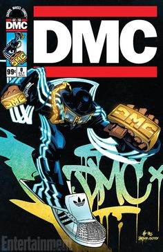 """Hip Hop Icon, Darryl """"DMC"""" McDaniels Will Be Unveiling Issue of His Own Comic Book at Comic Con in New York City! Darryl """"DMC"""" McDaniels will be autographing the first copies of his amazing pro… Arte Do Hip Hop, Hip Hop Art, Run Dmc, Comic Art, Comic Books, Rapper Art, Hip Hop And R&b, How To Make Comics, 6 Photos"""