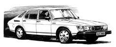 1979 saab 900 gle 3 view drawings - Google Search