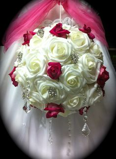 Rose Balls add elegance and charm to any event decor, very versatile.
