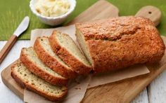 Courgette Bread with Lemon-Honey Butter