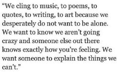 Hidden feelings