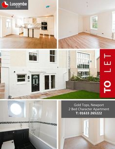 #WowPropertyWednesday Stunning 2 Bed Character Apartment on Gold Tops in Newport !