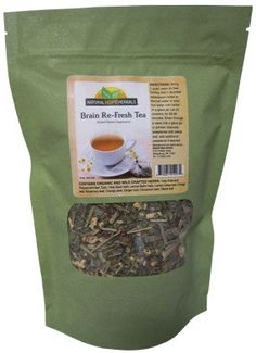 BRAIN RE-FRESH Herbal Tea Blend for Healthy Blood Flow and Circulation Clear Head Traditional Apothecary