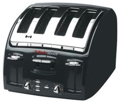 T-fal Classic 4-Slice Toaster w/Bagel Toast Function Black Kitchen Appliance New