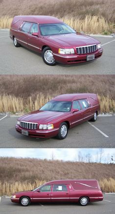 1998 Cadillac Deville Hearse [garaged and pampered] New Tyres, Oil Filter, Red Paint, Cadillac, Leather