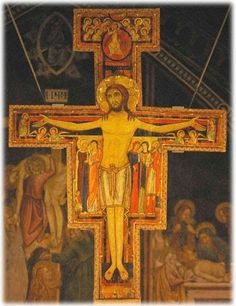 San Damiano -- the cross that spoke to St. Francis