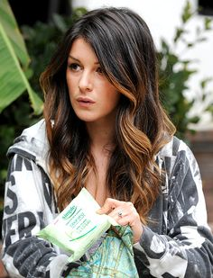 Shenae Grimes On the Go