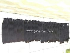 Straight Hair With Full Cuticle, Natural Color Unprocessed - Googlehair.com