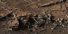 'Ice Cream Sandwich' Rocks on Mars found by Curiosity Rover