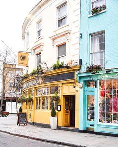 Notting Hill London #BestCities