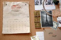 amazing diy calendar