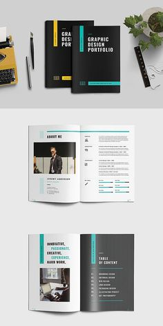 # Brochure Graphic Design Portfolio, – Famous Last Words Portfolio Design Layouts, Book Design Layout, Book Cover Design, Creative Portfolio, Product Design Portfolio, Template Portfolio, Brochure Indesign, Template Brochure, Report Template