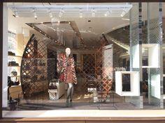 "LONGCHAMP, Regent Street, London, UK, ""Break Free"", creative by Elemental Design, pinned by Ton van der Veer"