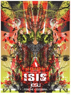 I was very sad when Isis broke up. I've seen them live as much as any band.