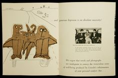 Saul Steinberg-A Brief Message About Your Motoring Comfort…