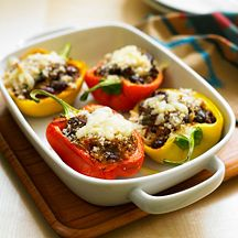 Weight Watchers chilli stuffed peppers 10 pro points