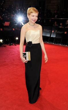 Michelle Williams (@ 2012 BAFTA Awards)