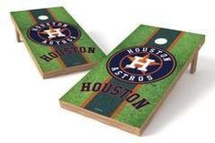 Houston Astros Single Cornhole Board - Field