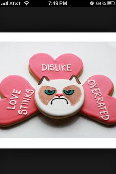 Perfect Valentine cookies