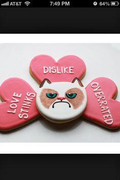 Perfect Valentine cookies
