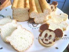 Mickey Mouse Mini Bread Baking / Cake Mold w Stencil   eBay