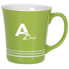Ring up more sales with this colorful custom coffee cup!
