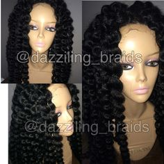 Crochet Braids Untwisted : ... about Lace front braid wig on Pinterest Ghana braids, Lace and Nice
