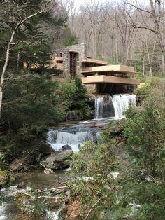 Frank Lloyd Wright's 'Falling Waters', Mill Run PA