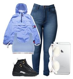 FANETO by baddiest-bish on Polyvore featuring polyvore fashion style Tommy Hilfiger Wildfox NIKE clothing
