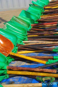 태안기름유출사고로 많은분들이 기름제거 자원봉사에 참여했지요 그때쓰였던 장비들입니다