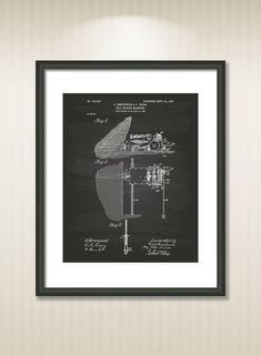 Coal Mining Machine 1903 Patent Art Illustration  by TawerArt