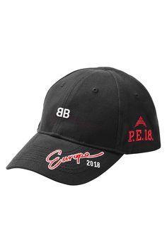 BALENCIAGA LOGO BASEBALL CAP.  balenciaga   4208496665a0