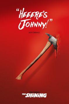 """""""Heeere's Johnny!"""" The Shining"""