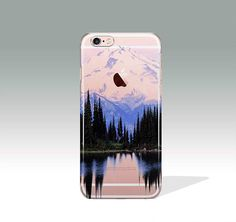 iPhone 7 Case Mountains Clear iPhone 7 Plus Case iPhone 7 Case