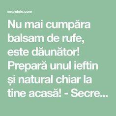 Nu mai cumpăra balsam de rufe, este dăunător! Prepară unul ieftin și natural chiar la tine acasă! - Secretele.com
