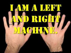 """LEFT AND RIGHT MACHINE- """"the robot song"""""""