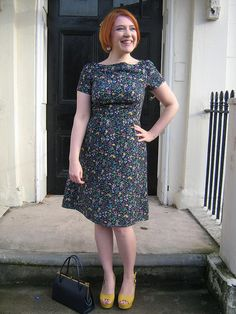 Colette Peony Dress via But it can't be from Dolly Clackett. She gave me an Easter egg.