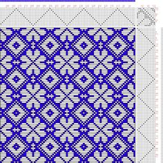 Hand Weaving Draft: N. 17-1, Weber Kunst und Bild Buch, Marx Ziegler, 12S, 12T - Handweaving.net Hand Weaving and Draft Archive