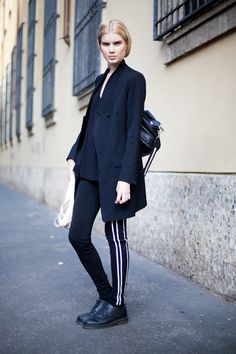 The best of street style. Germany Fashion, Berlin Fashion, Street Look, Street Wear, Street Style, Urban Fashion, Womens Fashion, Sporty Chic, High Class