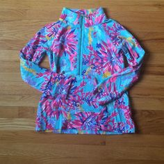 Lilly Pulitzer Sippin and trippin popover HOLY GRAIL! This is a hard to find popover! I haven't seen it anywhere! Slight pilling under the arms. EUC. Price is firm on posh. Will sell through ♏️. I've worn it twice, the pattern just isn't my favorite. I bought it on impulse Hopefully it will find a new home in a Lilly lovers closet! Lilly Pulitzer Sweaters