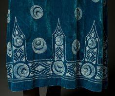 Evening dress, detail c. 1922