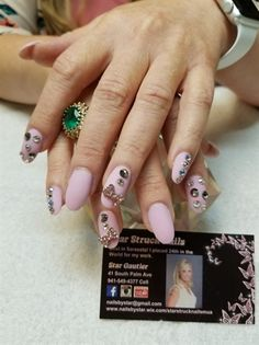 497 Best Embellished Nail Art Images On Pinterest In 2018 Acrylic
