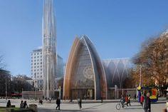 Anglican Church Concept Design for Christchurch - WAM