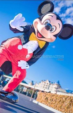 Mickey can't wait to meet you.